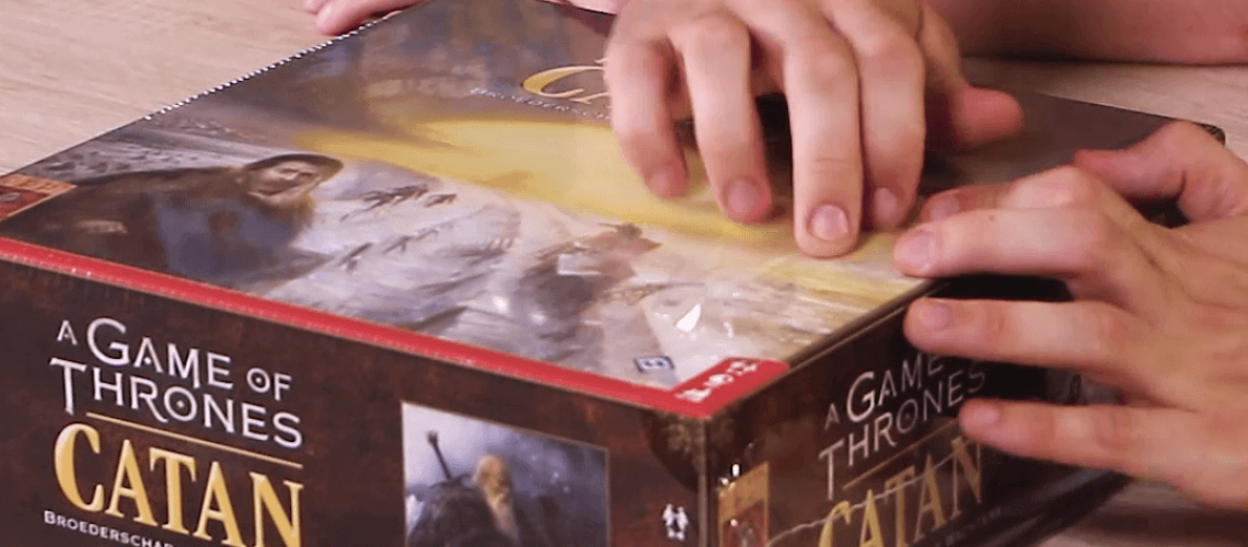 Unboxing A Game of Thrones Catan